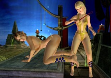 Hot nude girls in 3D Sex Villa gameplay free