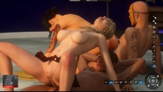 Grand Bang Auto gameplay with threesome drunk orgy